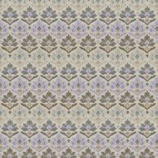Delphinium Damask Decorator Fabric by Stroheim