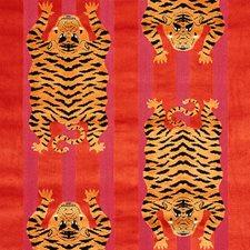 Red/Pink Decorator Fabric by Schumacher