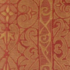 Gold/red Decorator Fabric by Highland Court
