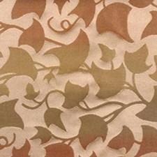Sage/cinnamon Decorator Fabric by Highland Court