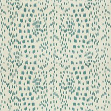 Aqua Animal Skins Decorator Fabric by Brunschwig & Fils