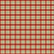 Currant/Ink Plaid Decorator Fabric by Brunschwig & Fils