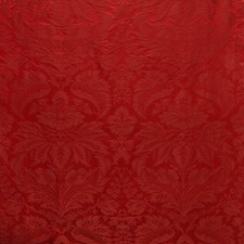 Red Damask Decorator Fabric by Brunschwig & Fils