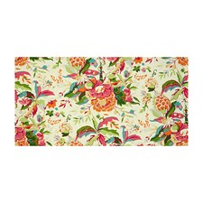 Pink/Orange Tropical Decorator Fabric by Brunschwig & Fils