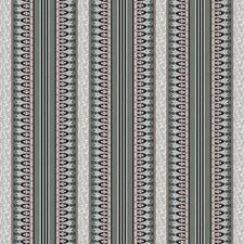 Gris/Rose Stripes Decorator Fabric by Brunschwig & Fils