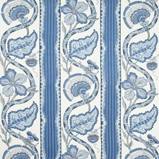 Blue Stripes Decorator Fabric by Brunschwig & Fils