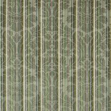 Aqua/Palm Damask Decorator Fabric by Brunschwig & Fils
