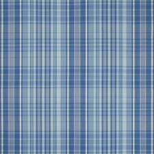 Blue Plaid Decorator Fabric by Brunschwig & Fils