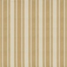 Beige Stripes Decorator Fabric by Brunschwig & Fils