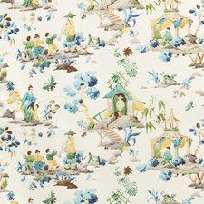 Peridot Asian Decorator Fabric by Brunschwig & Fils