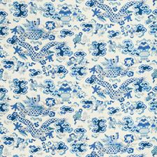 Ivory Asian Decorator Fabric by Brunschwig & Fils