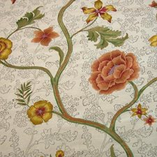 Autumn Floral Decorator Fabric by B. Berger