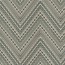 Sage Embroidery Decorator Fabric by S. Harris