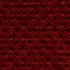 Cranberry Jacquard Pattern Decorator Fabric by S. Harris