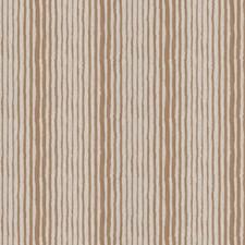 Camel Stripes Decorator Fabric by Stroheim