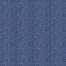 Cobalt Diamond Decorator Fabric by Stroheim