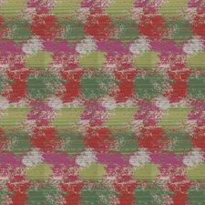 Fuchsia Geometric Decorator Fabric by Stroheim
