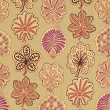 Rhubarb Jacquard Pattern Decorator Fabric by S. Harris