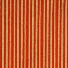 Poppy Stripes Decorator Fabric by S. Harris