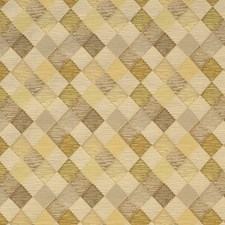 Frosted Almond Geometric Decorator Fabric by S. Harris