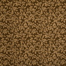 Cocoa Jacquard Pattern Decorator Fabric by S. Harris