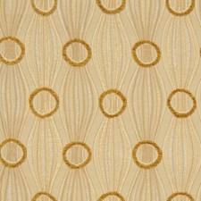 Warm Sand Jacquard Pattern Decorator Fabric by S. Harris