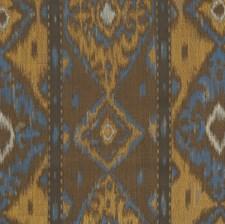 Graphite Flamestitch Decorator Fabric by S. Harris
