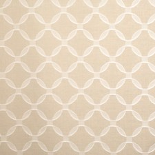 Linen Geometric Decorator Fabric by S. Harris
