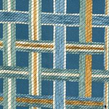 Blue Haze Jacquard Pattern Decorator Fabric by S. Harris