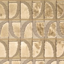 Birch Geometric Decorator Fabric by S. Harris