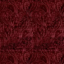 Garnet Paisley Decorator Fabric by S. Harris