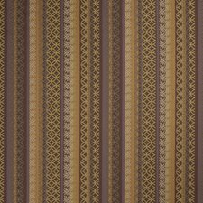 Plum Gold Lattice Decorator Fabric by S. Harris