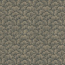Slate Flamestitch Decorator Fabric by Trend