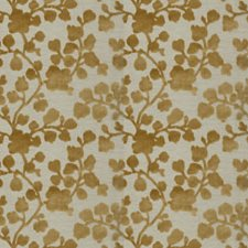 Citrine Floral Decorator Fabric by Trend