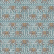 Aqua Animal Decorator Fabric by Trend