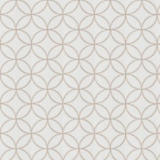 Natural Embroidery Decorator Fabric by Trend