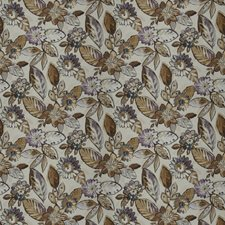 Tamarind Floral Decorator Fabric by Vervain