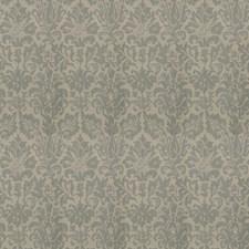 Aqua Damask Decorator Fabric by Fabricut