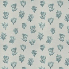 Aquamarine Jacquard Pattern Decorator Fabric by Trend