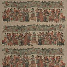 Cinnabar Global Decorator Fabric by Vervain