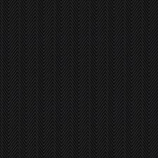 Onyx Herringbone Decorator Fabric by Trend