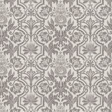 Graphite Floral Decorator Fabric by Vervain