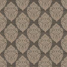 Onyx Medallion Decorator Fabric by Trend
