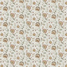 Bouquet Embroidery Decorator Fabric by Fabricut