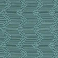 Aqua/Green Abstract Decorator Fabric by Duralee