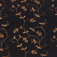 Black/Yellow/Gold Lattice Decorator Fabric by Kravet