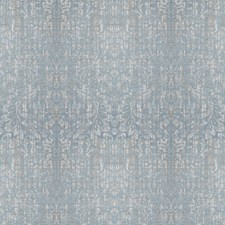 Blue Sky Damask Decorator Fabric by Vervain