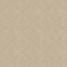 Flax Damask Decorator Fabric by Trend