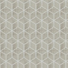 Latte Lattice Decorator Fabric by Trend