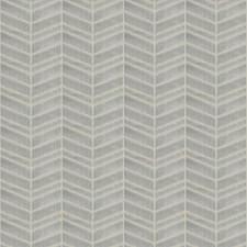 Ash Chevron Decorator Fabric by Trend